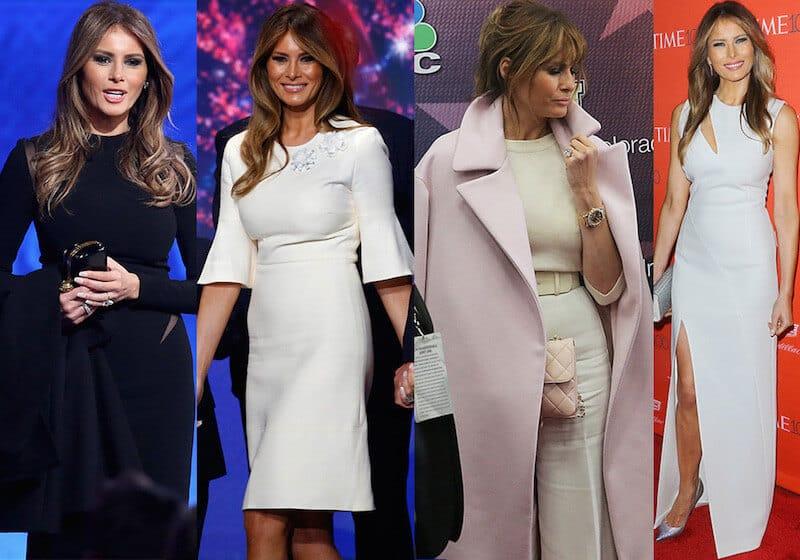 First Fashion Lady Melania Trump by Maria Elena Fabi