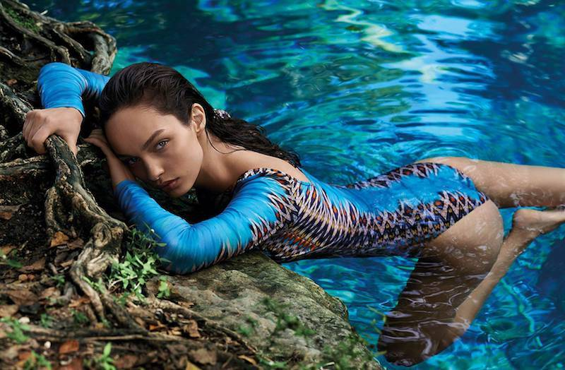 Brazilian Stunning Model Luma Grothe by Annalisa Fiscarelli
