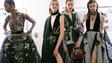ELIE SAAB Haute Couture Autumn Winter 2016-2017 | Backstage