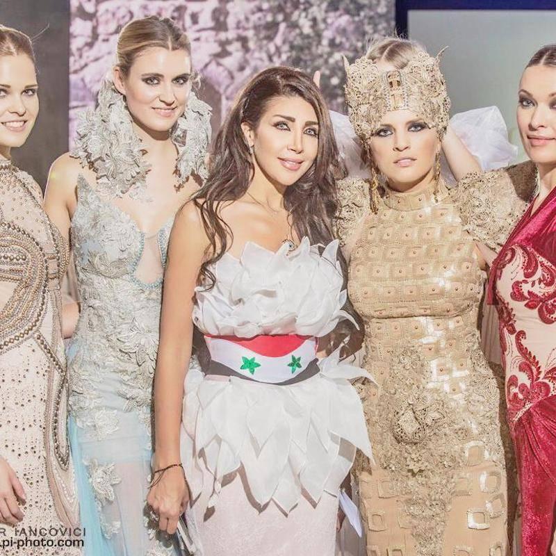 Manal Ajaj – The Best Syrian Fashion Stylist & Designer in UAE by Wilma Carnevale