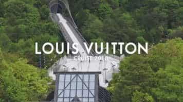The Louis Vuitton Cruise 2018 Show Space Near Kyoto, Japan