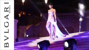 BVLGARI Goldea The Roman Night – The event on Spanish Steps in Rome
