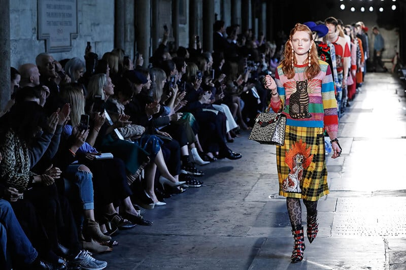 Gucci Cruise 2018 – Palazzo Pitti for Gucci Renaissance Experience by Maria Zota