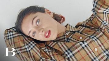 Burberry Beauty: Discover Lip Velvet Crush starring Iris Law