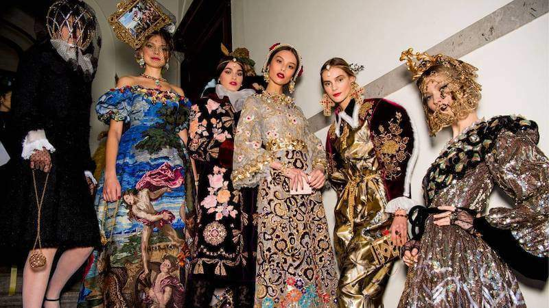 Dolce & Gabbana Show is a Mix of Tradition and Innovation, a True Celebration of Italian history by Maria Zota