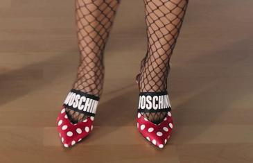 Moschino Spring Summer '19 shoes preview!