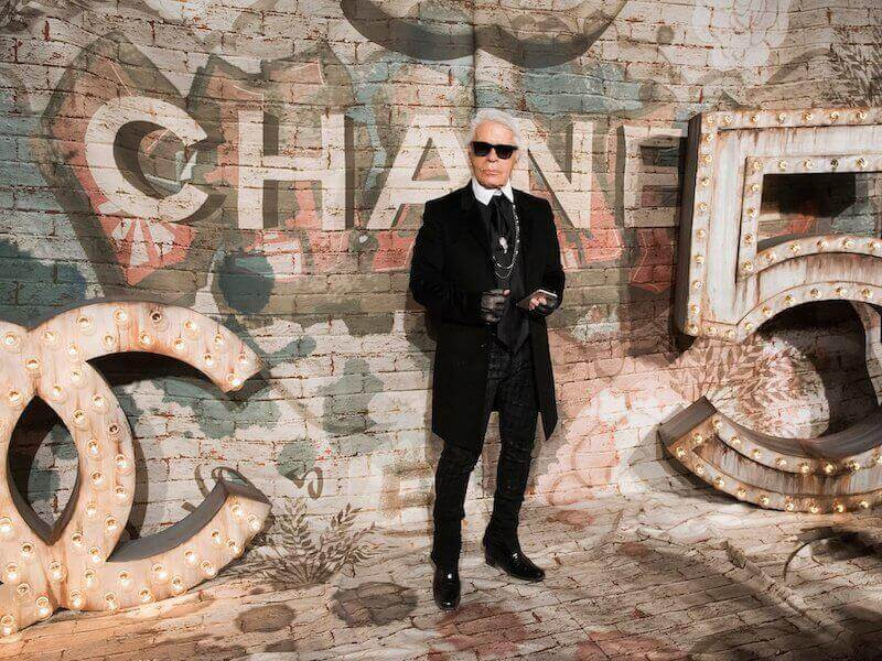 We Have Lost our Legend Karl Lagerfeld , Who Has Died Aged 85 by Maria Zota