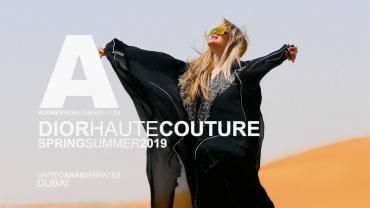 DIOR PARADE DUBAI 2019 HAUTE COUTURE