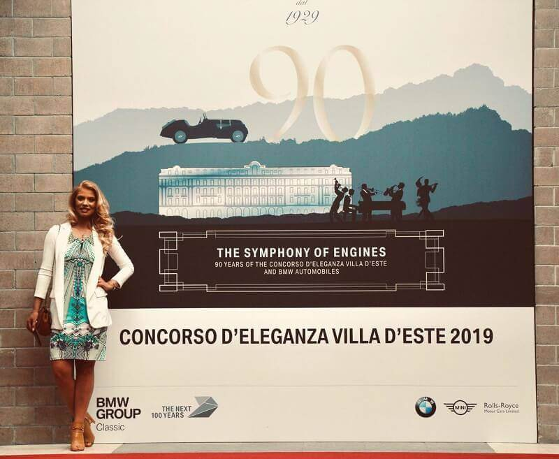 Villa d'Este Elegance Concourse The Symphony of Engines – 90 Years of The Concorso d'Eleganza Villa d'Este & BMW Automobiles by Maria Zota