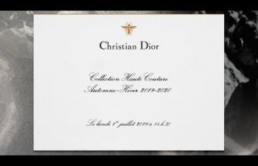 Dior Autumn-Winter 2019-2020 Haute Couture show