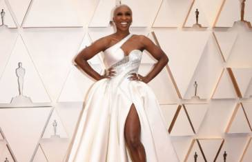 Versace at the Oscars 2020