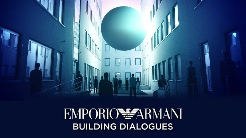 "The Spring/Summer 2021 Collection by Emporio Armani ""Building Dialogues""of openness to the other and to the world. by Maria Zota"
