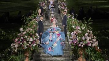 The Alta Moda event, Villa Bardini, September 2020