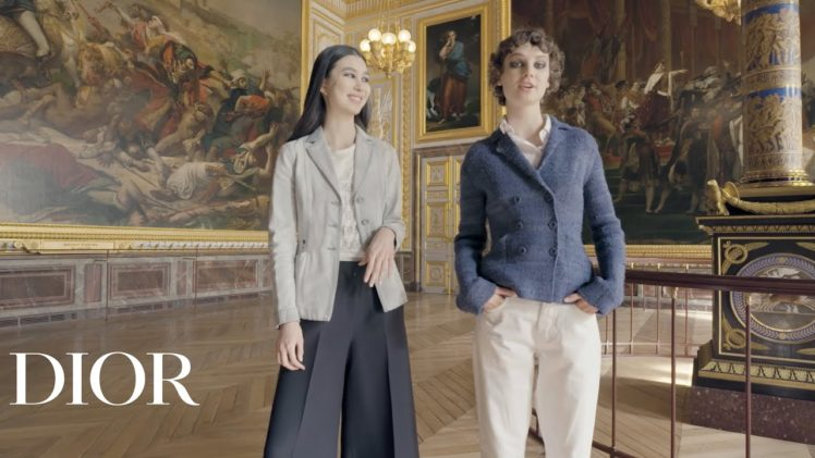 Backstage Tour of the Dior Show in Versailles